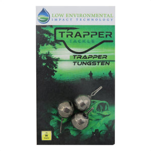 Tungsten Dropshot Weights Related Trapper Tackle LLC 1/4 oz