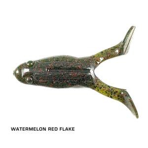Zee Bait Turbo Toad Related Trapper Tackle LLC Watermelon Red Flake