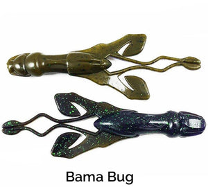 Zee Bait Arma Craw Related Trapper Tackle LLC Bama Bug