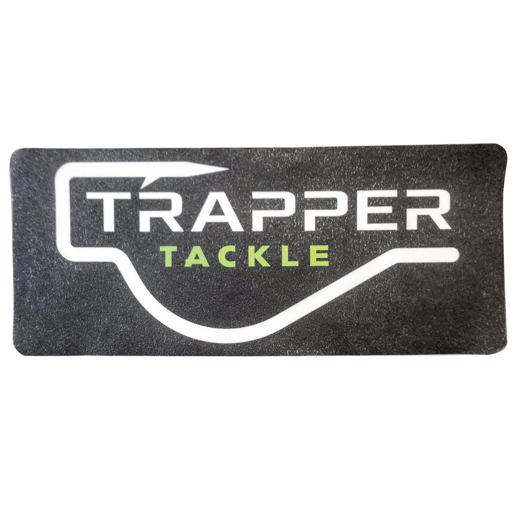Trapper Tackle Carpet Decal Related Trapper Tackle LLC Black