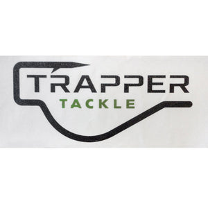 Trapper Tackle Carpet Decal Related Trapper Tackle LLC White