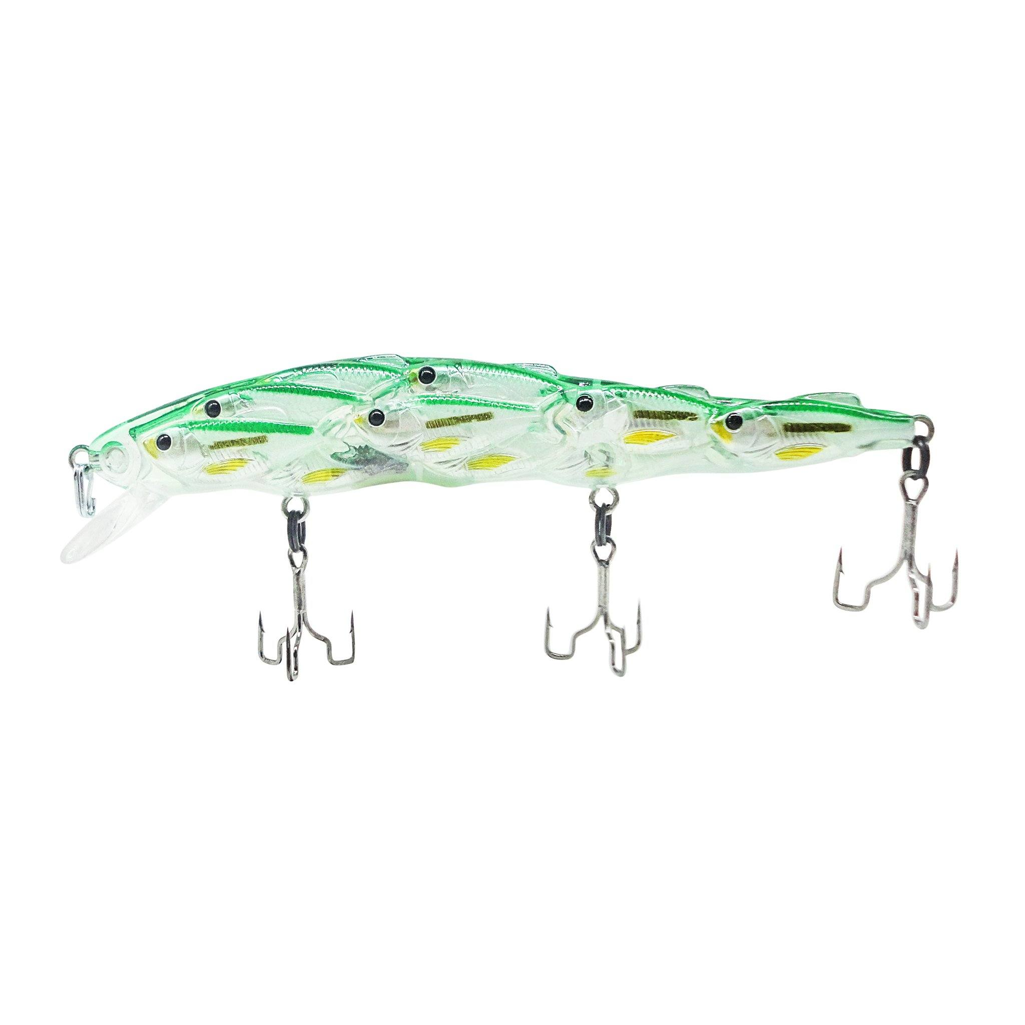 Trapper Schooling Jerkbait Related Trapper Tackle LLC Green