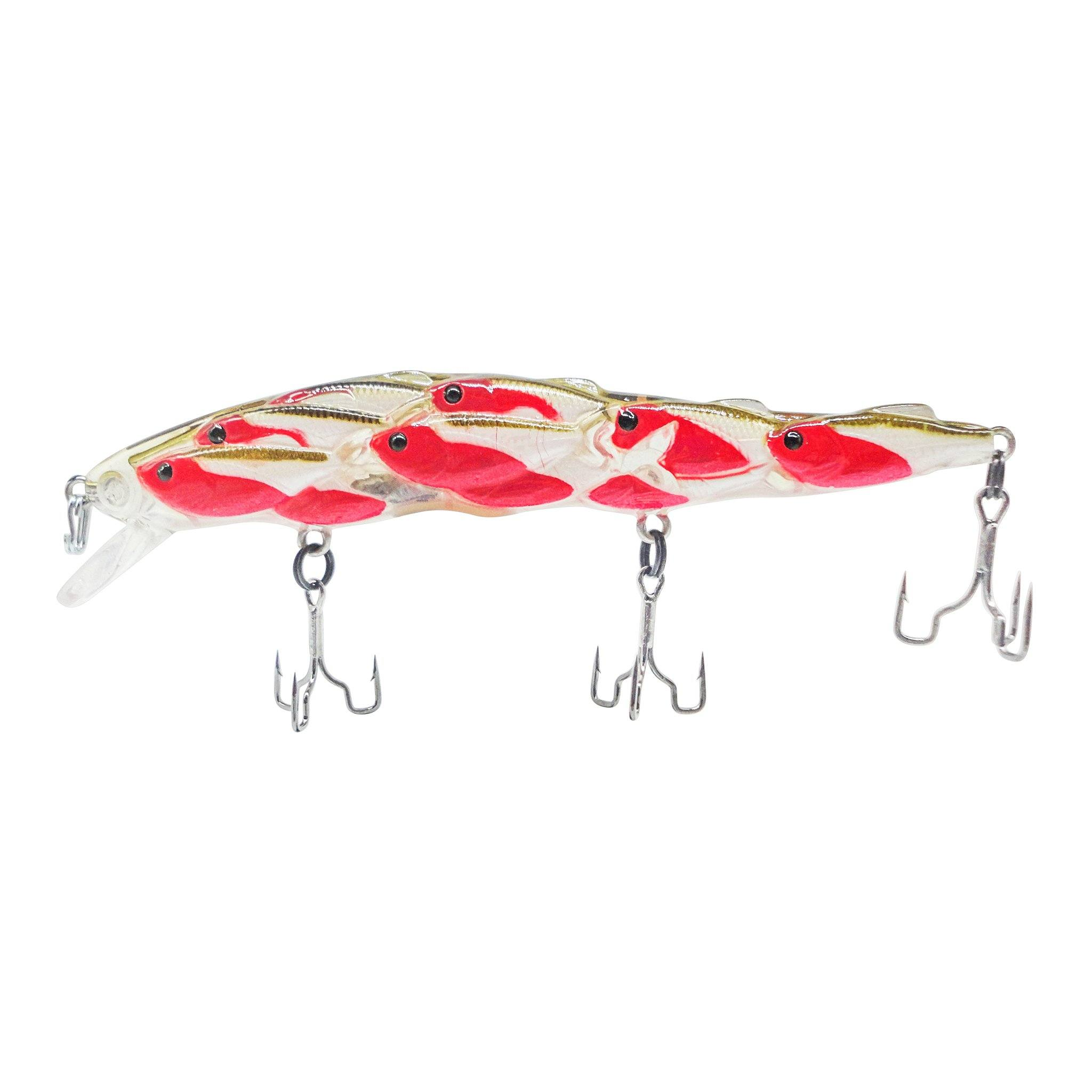 Trapper Schooling Jerkbait Related Trapper Tackle LLC Red