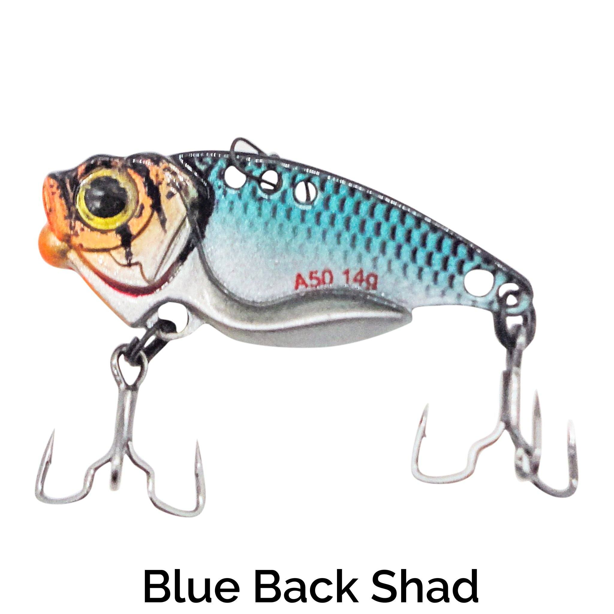 Trapper Blade Bait Related Trapper Tackle LLC Blue Back Shad