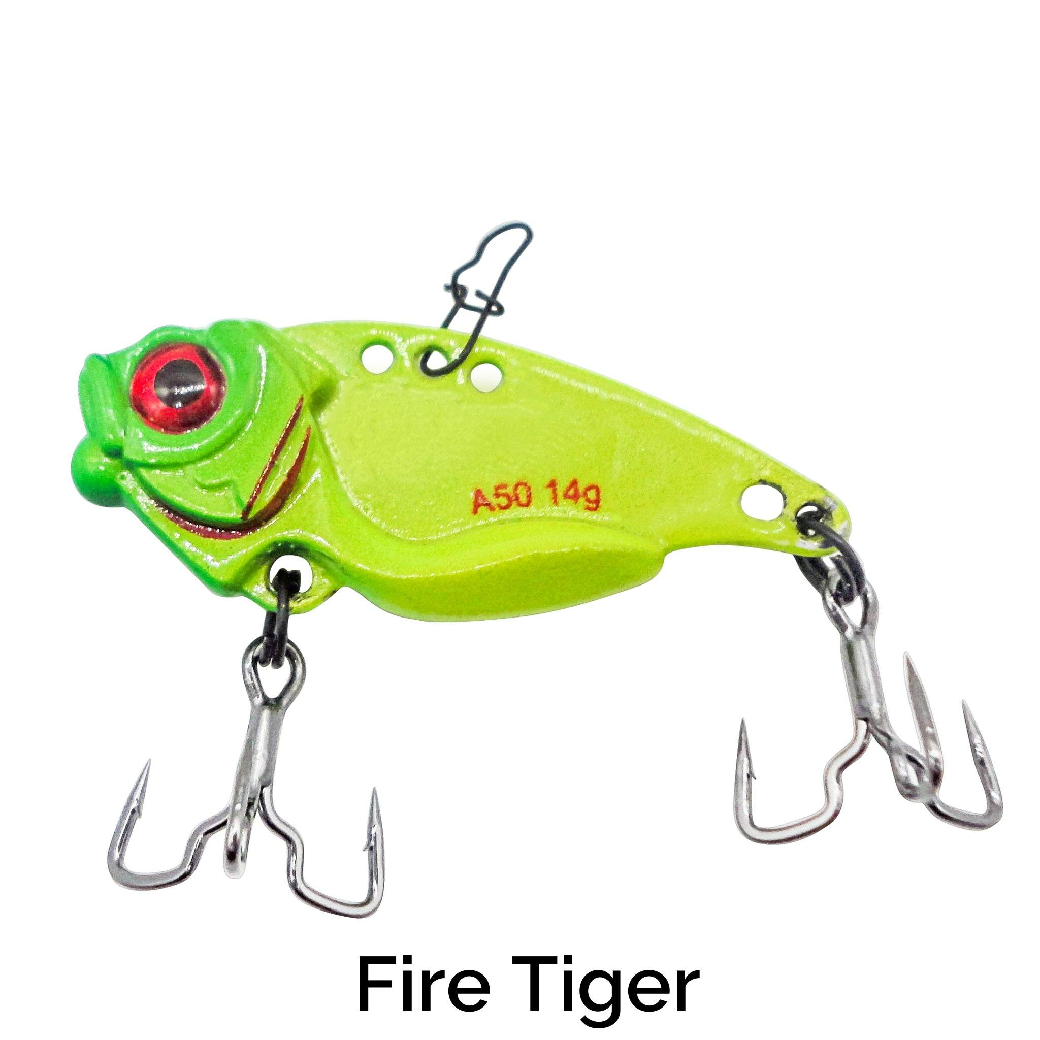 Trapper Blade Bait Related Trapper Tackle LLC Fire Tiger