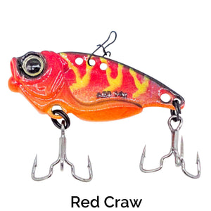 Trapper Blade Bait Related Trapper Tackle LLC Red Craw