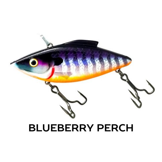 Rat-L-Trapper Hard Baits TrapperTackle Blueberry Perch