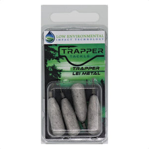 LEI Dropshot Weights Related Trapper Tackle LLC 3/8 oz