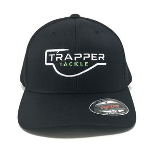 Flexfit Ultra FibreMesh Hat Hat TrapperTackle Small/Medium Black