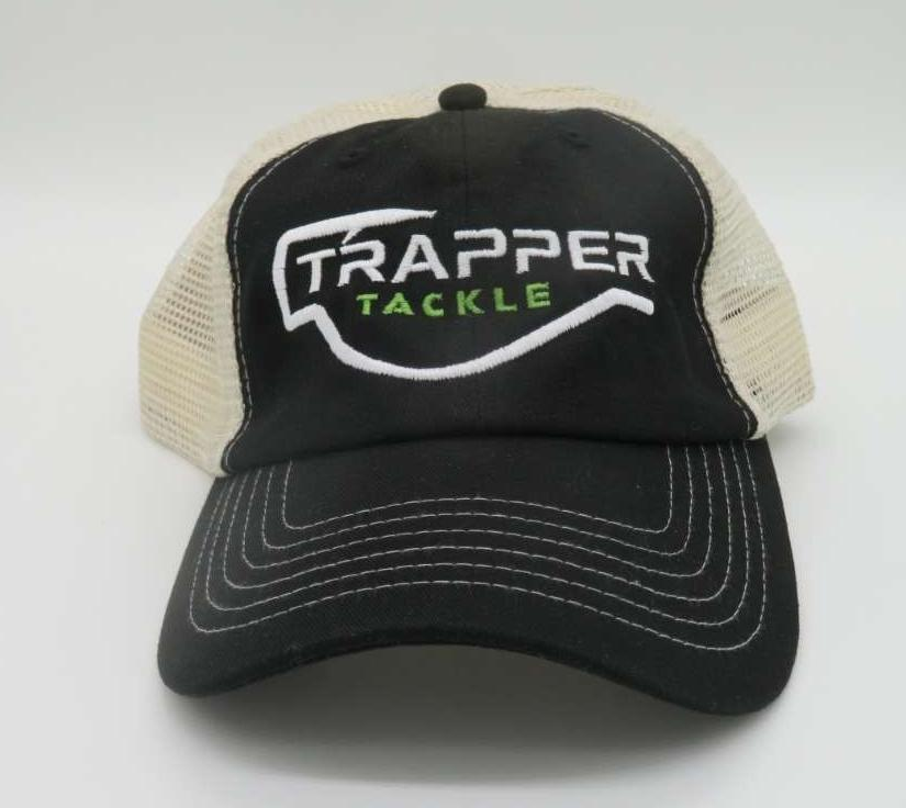 2 Color Sportsman Hat - Black and Stone Hat TrapperTackle