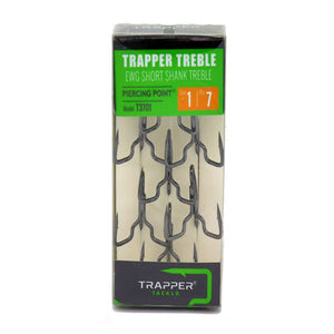 EWG Short Shank Treble Related Trapper Tackle LLC #1 7-Pack