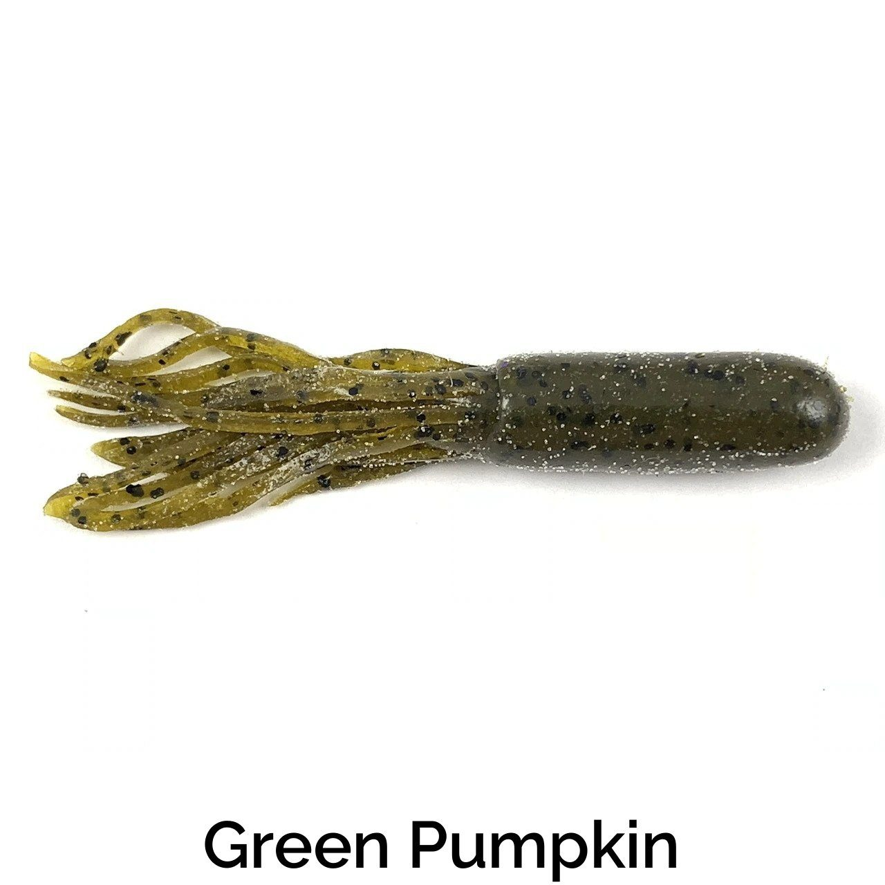 Zee Bait Tubes Related Trapper Tackle LLC Green Pumpkin