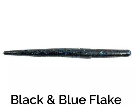 Zee Bait Twig Related Trapper Tackle LLC Black/Blue Flake