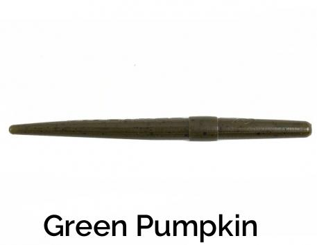 Zee Bait Twig Related Trapper Tackle LLC Green Pumpkin