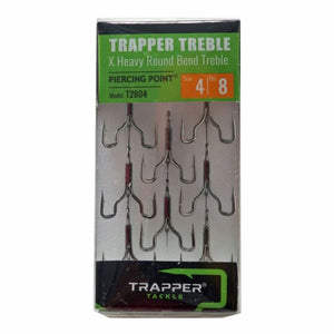 X Heavy Round Bend Treble TrapperTackle