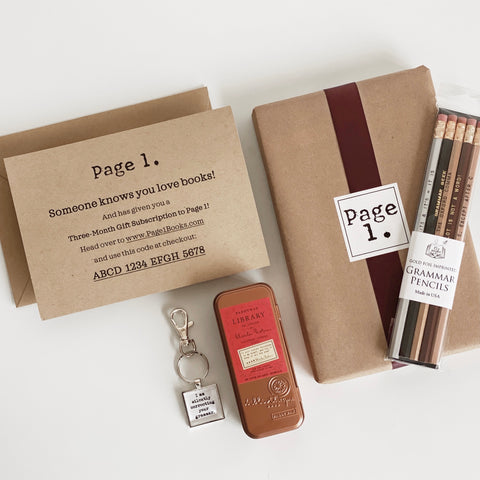Page 1 Subscription Gift Bundle