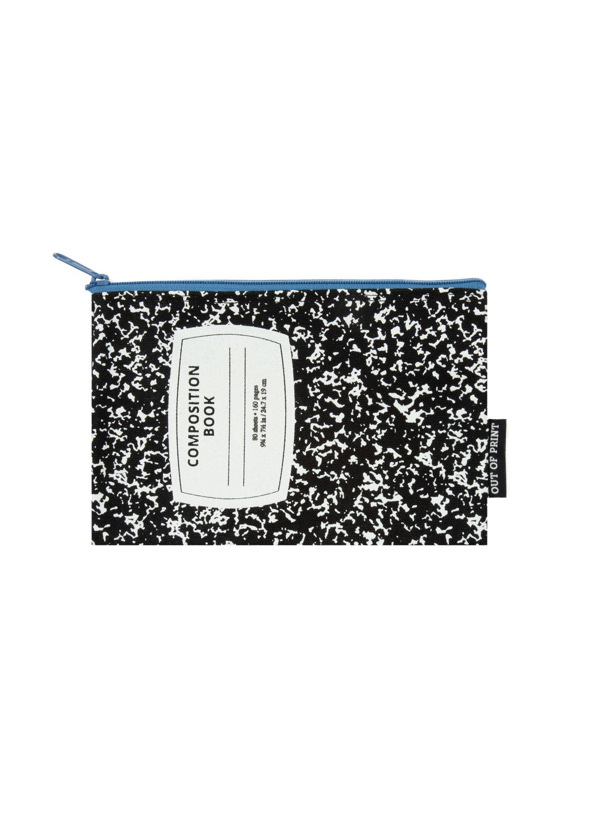 Out of Print Composition Notebook Pencilcase
