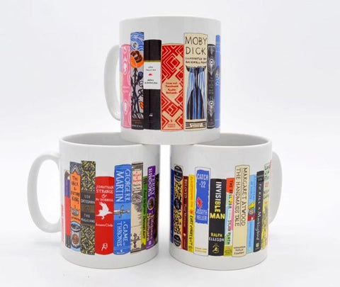 Jane Mount Ideal Bookshelf Mugs