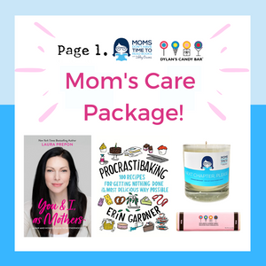 Mom's Care Package by Zibby Owens and Dylan's Candy Bar