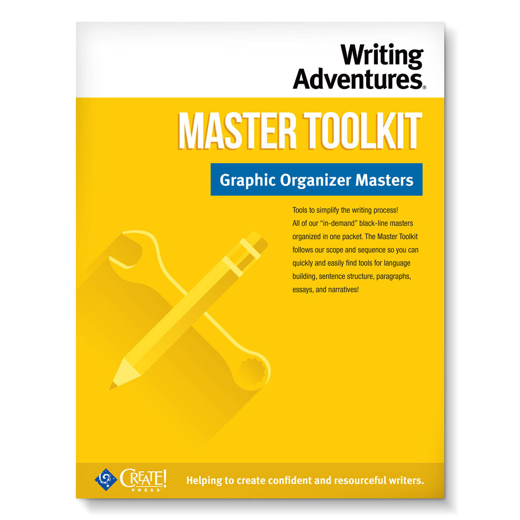 Writing adventures master toolkit create press ccuart Choice Image