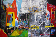 "Load image into Gallery viewer, ""Jazz in New York"" by Blue Jung-Sun Moon, Mixed Media"