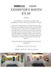 Load image into Gallery viewer, 8X10 exhibitors booth - artist reception NYA TriBeCa New York  DEPOSIT $500 CG