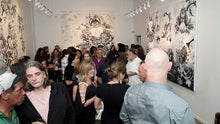Load image into Gallery viewer, exhibitors premier gallery - artist reception TriBeCa New York 4000  LM