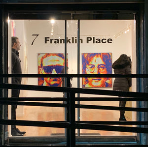 20X20 exhibitors booth premier gallery - artist reception TriBeCa New York 3000  LM