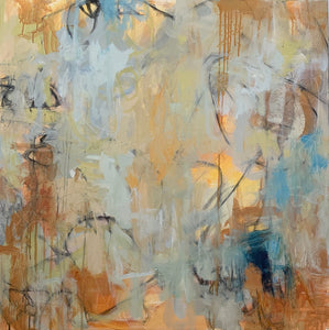'Light Coming Through' by Britt Bair, Acrylic and Mixed Media