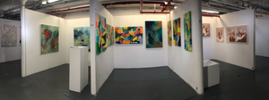 8X10 exhibitors booth - artist reception NYA TriBeCa New York  DEPOSIT $500 CG
