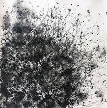 "Load image into Gallery viewer, ""Holmes Comet"" By Alessandra Sequeria, Acrylic Ink on Stratford Paper"