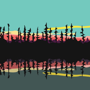 """The James Bay Wilderness"" By Phil Leith, Digital Print"