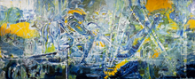 "Load image into Gallery viewer, ""Transcendence M"" By Shuk Orani, Oil on Canvas"