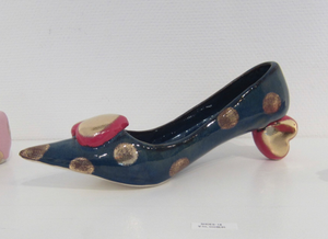 """2020 - 1 SHOES (W)"" by Duk Hee Kim, Ceramic"