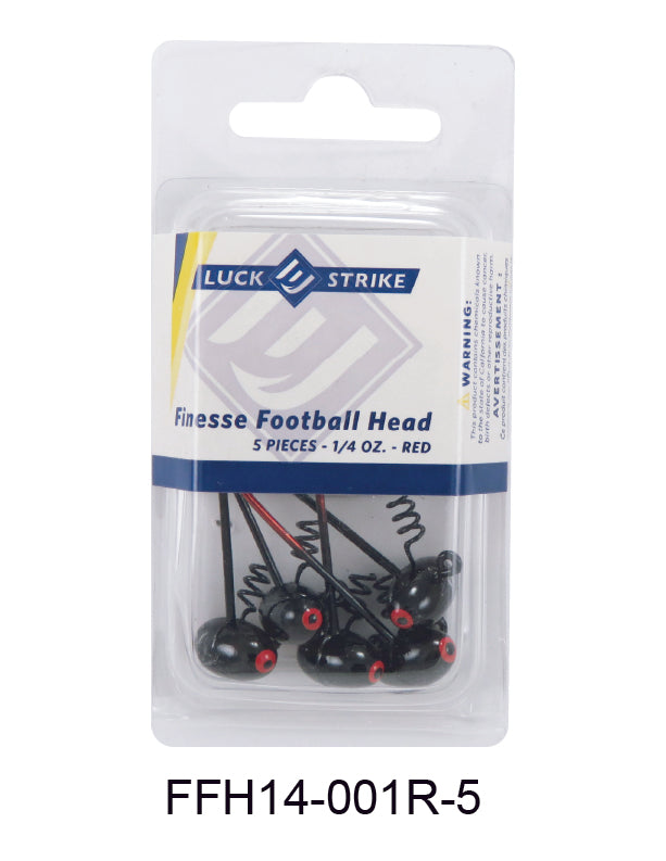 Finesse Football Head Jigs