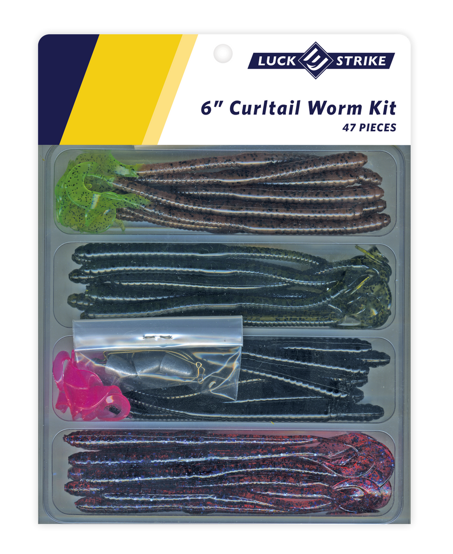 Curltail Worm Kit