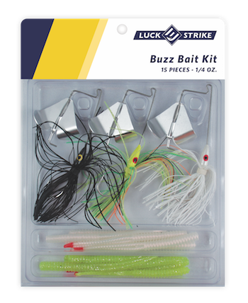 1/4 Ounce Buzzbait Kit