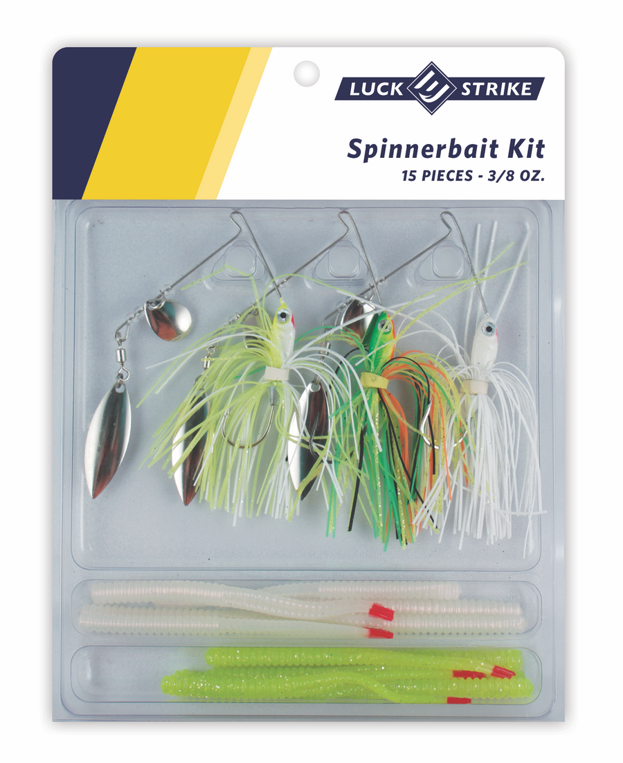 3/8 Ounce Spinnerbait Kit