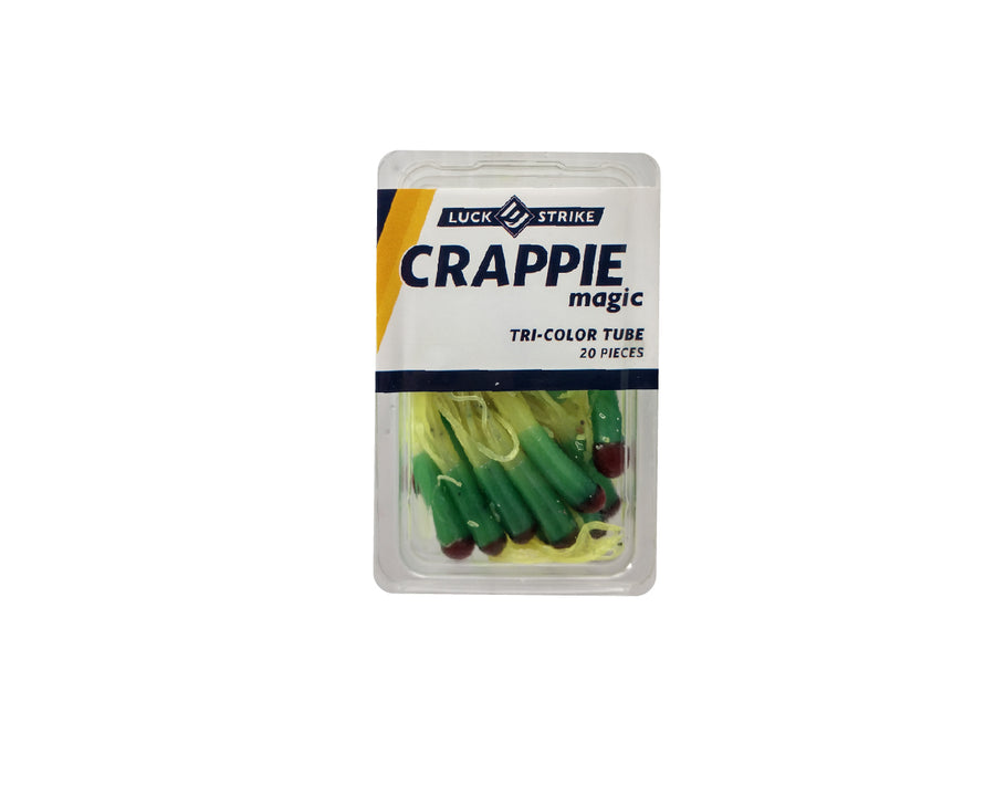Crappie Magic TRI Color Tubes
