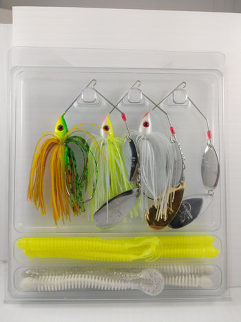 1/2 Oz. Trickster Spnnerbait kit