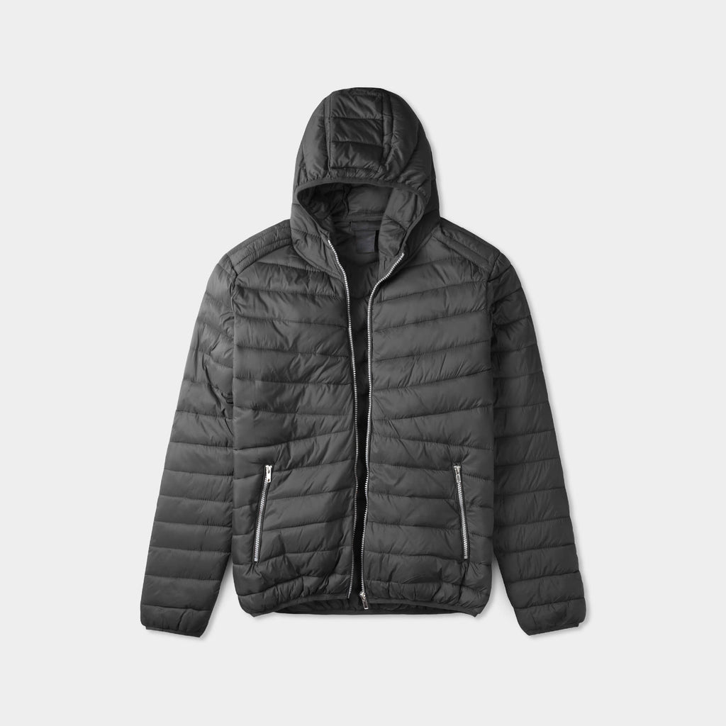 puffer jacket_mens puffer jacket_bubble jacket_mens down jacket_padded jacket_hooded puffer jacket_best down jacket_Black