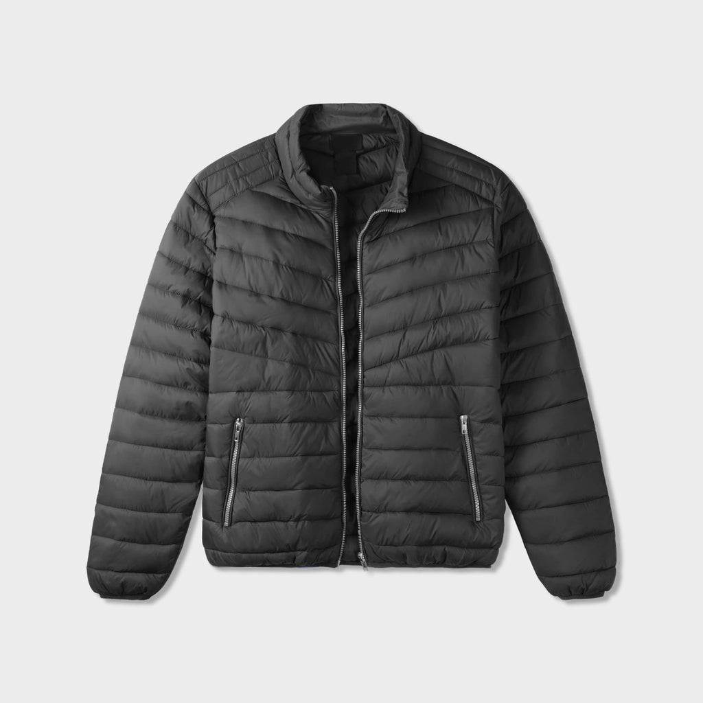 puffer jacket_mens puffer jacket_bubble jacket_mens down jacket_padded jacket_packable down jacket_best down jacket_Black