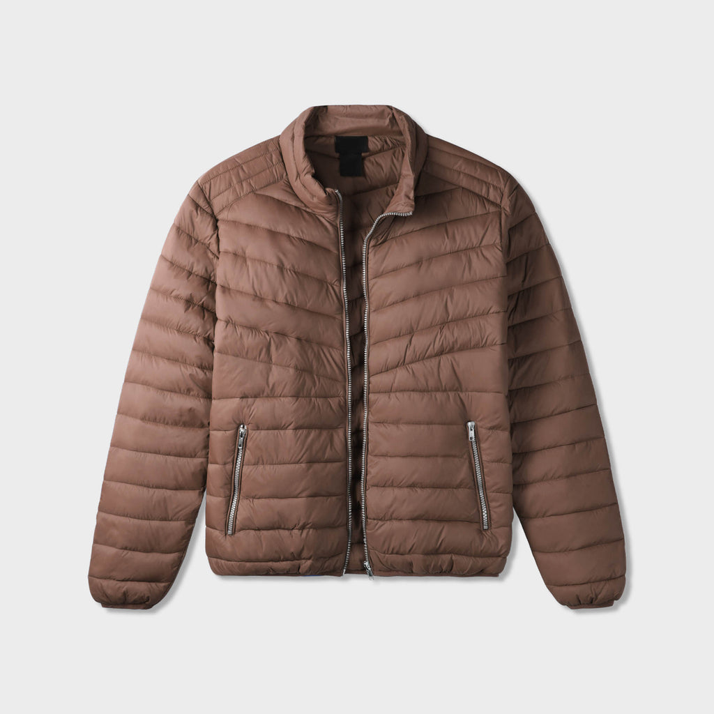 puffer jacket_mens puffer jacket_bubble jacket_mens down jacket_padded jacket_packable down jacket_best down jacket_Brown