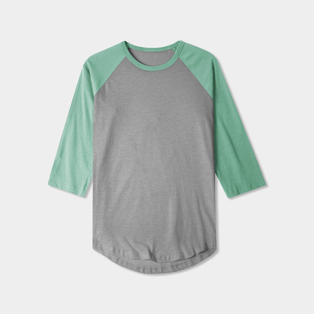 baseball tee_baseball tee shirts_raglan tee_softball tee_baseball t_long sleeve baseball tee_ raglan baseball tee_ baseball t shirt mens_ baseball tee mens_Athletic Heather/Mint