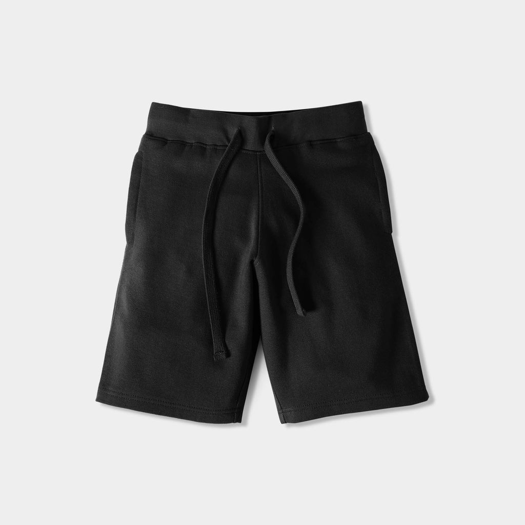 boys fleece shorts_hollister fleece shorts_mens fleece shorts cheap_chino shorts_sweat shorts_mens running shorts_sports shorts_cotton shorts_Black