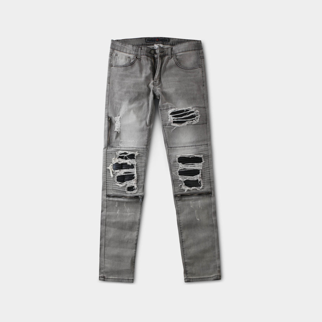 ripped jeans_distressed jeans_ripped skinny jeans_tattered jeans_blue ripped jeans_boys ripped jeans_men's ripped jeans_Gray