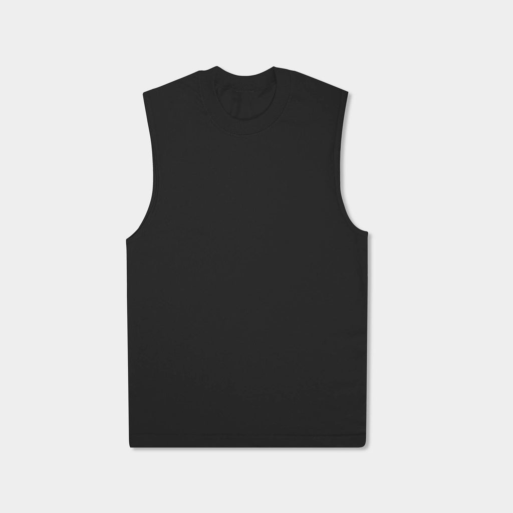 muscle tank_muscle tee_muscle tank tops_cropped muscle tank_under armour muscle shirt_insta slim tank_men muscle shirt_tank top_Black