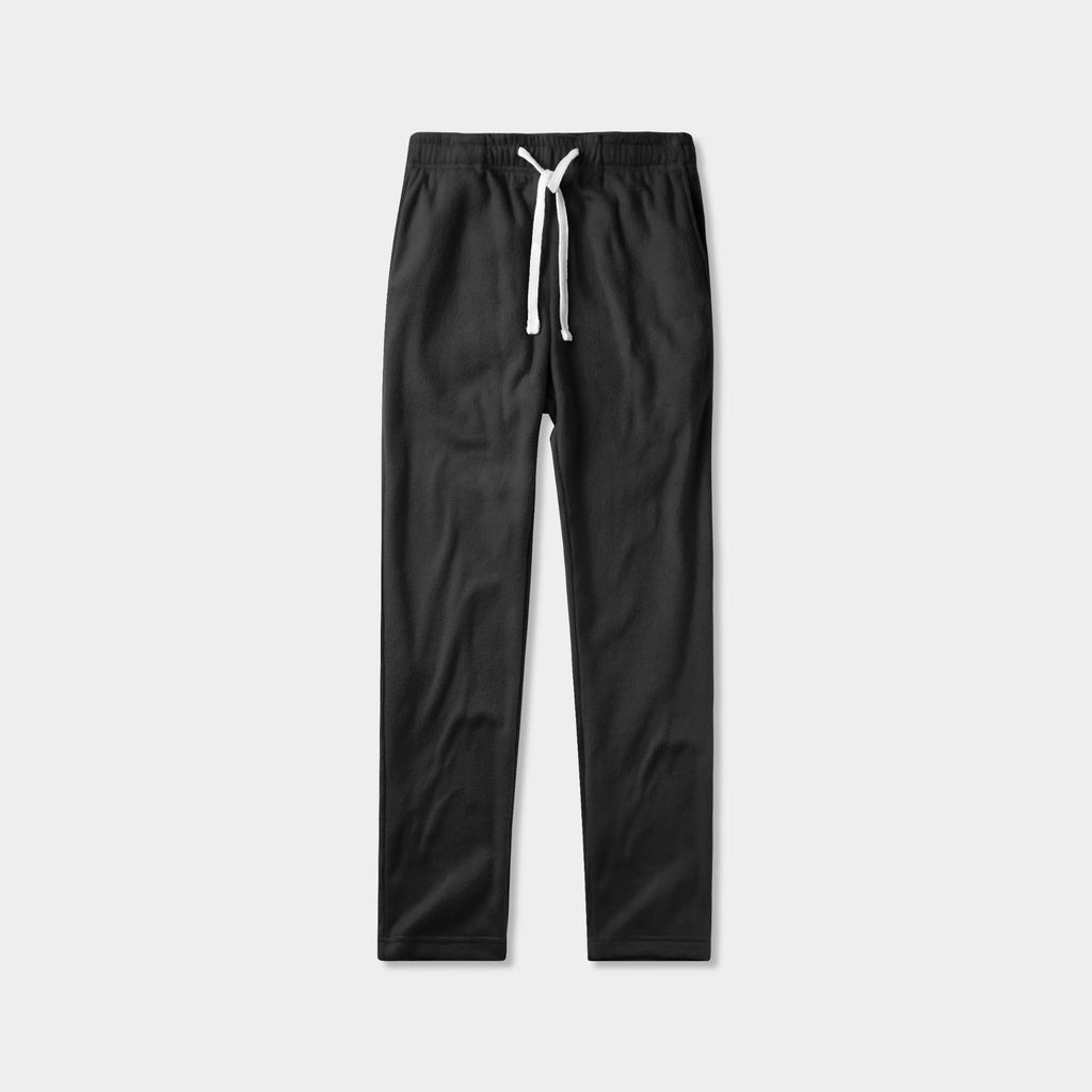 fuzzy sweatpants_fuzzy joggers_sweatpants_jogging pants_track pants_track pants men_mens sweatpants_mens jogging bottoms_Black
