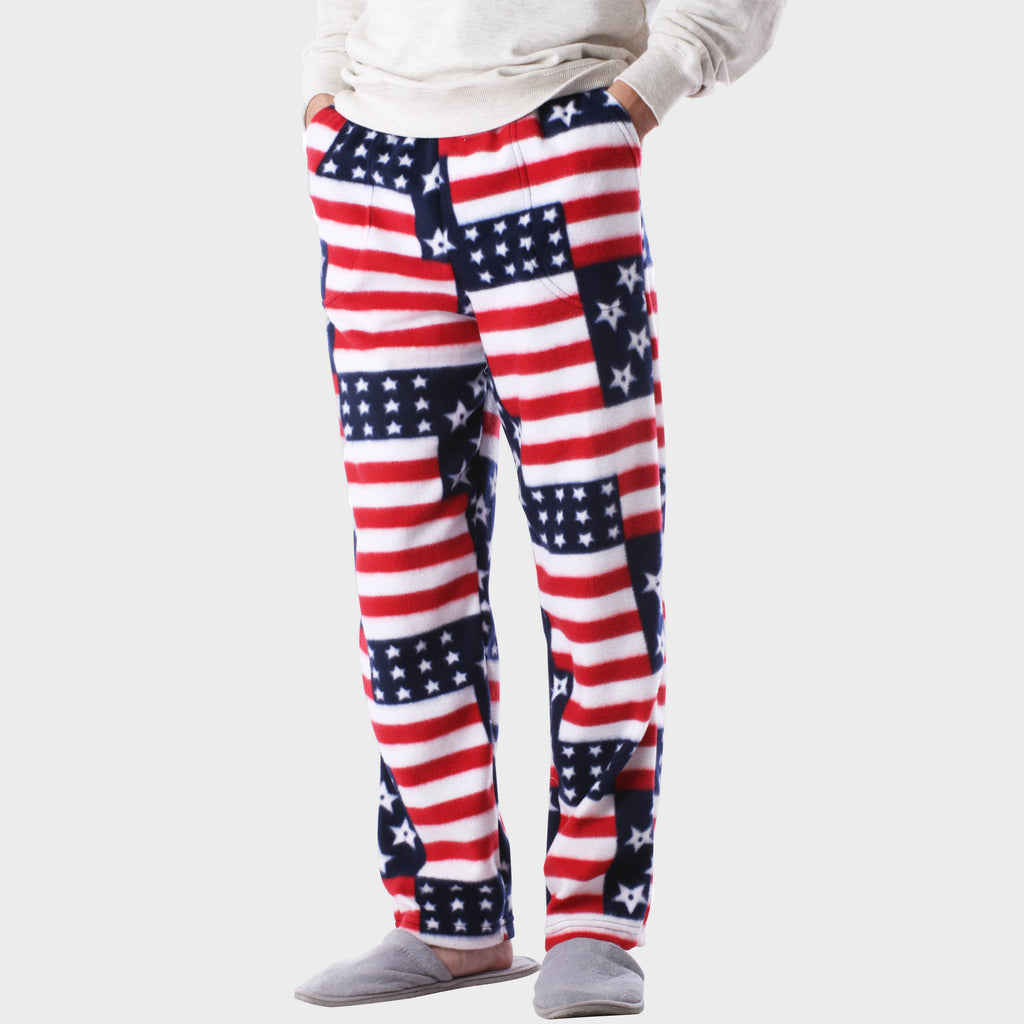 pajama pants_mens pajama pants_mens lounge pants_soft pajama pants_pajama bottoms_pj pants_soft lounge pants_american flag pajamas_American Flag