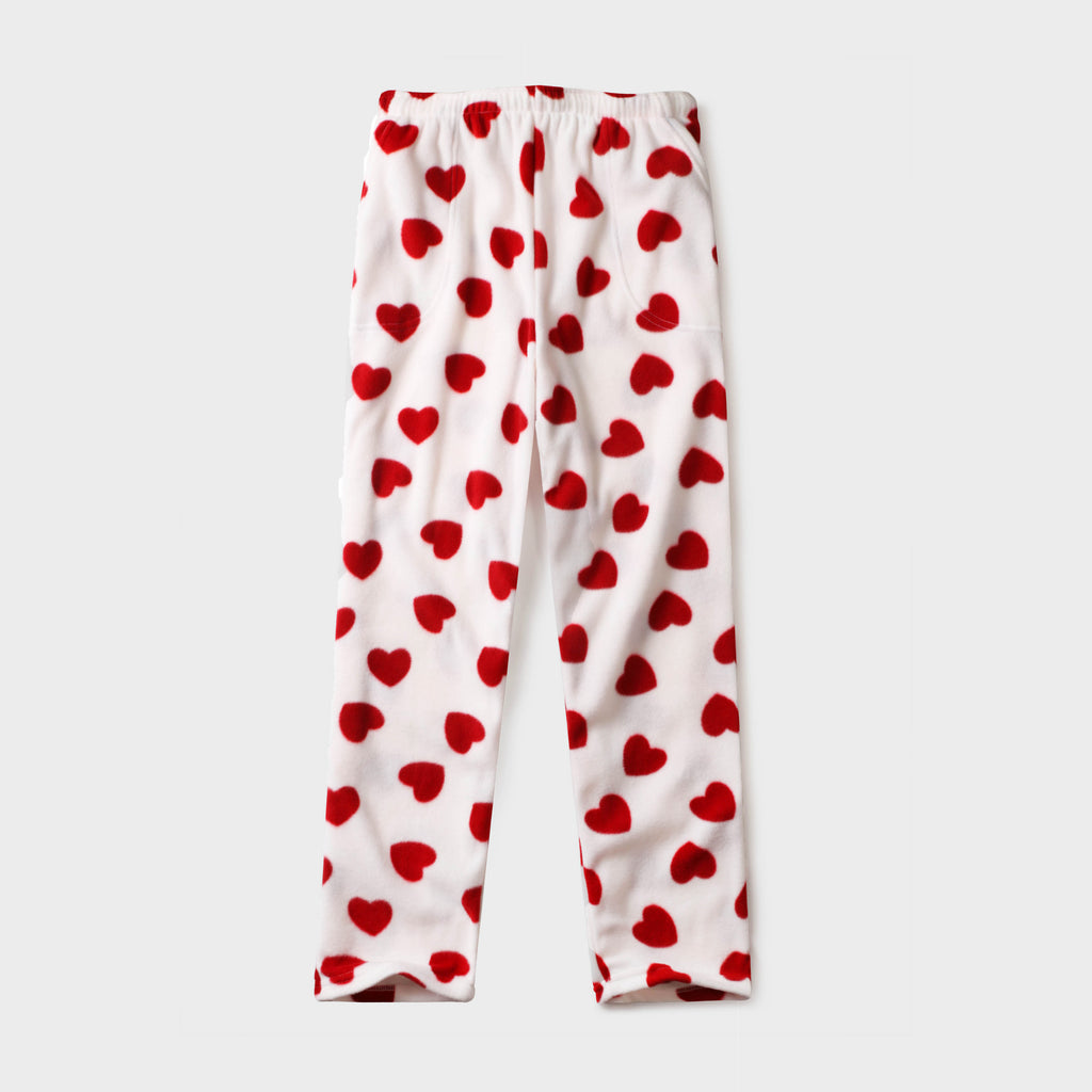 pajama pants_mens pajama pants_mens lounge pants_soft pajama pants_pajama bottoms_pj pants_soft lounge pants_american flag pajamas_Red Heart